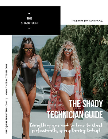 Shady Tan Guide - Technician Manual