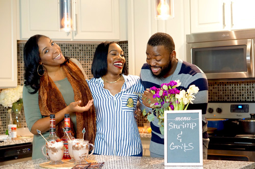 Cooking With Friends: Shrimp & Grits