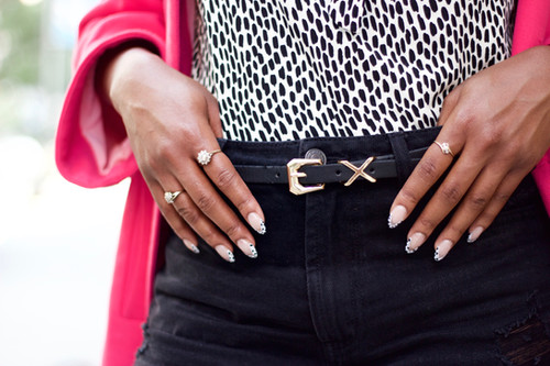 Autumn Nails: Dalmatian