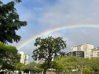 ハワイの虹のお話