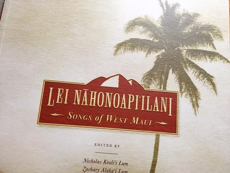Maui島のMeleを集めた本。