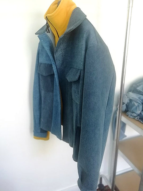 UPCYCLING JEANS JACKET