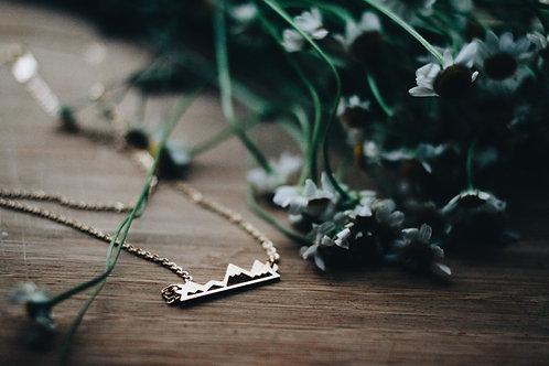 Lace Brick Design- Alpine Necklace