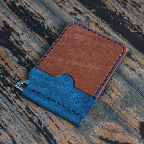 4-Pocket Spring Clip Wallet