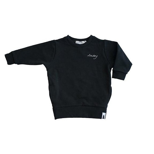 North Kinder - Baby Sweater Black
