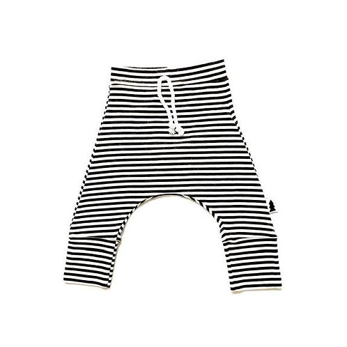 North Kinder - Baby Joggers - Striped Charcoal