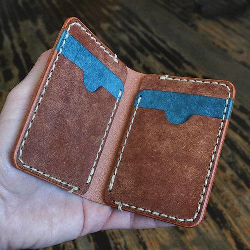 6-Pocket Vertical Fold Wallet