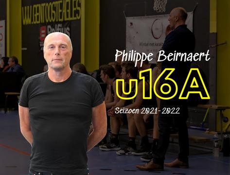 Philippe Beirnaert coacht u16 A volgend seizoen