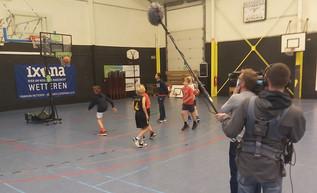 VTM nieuws op bezoek in Melle