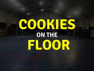 Cookies on the floor