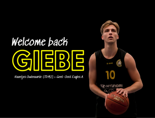 Giebe Debo keert terug naar Eagles