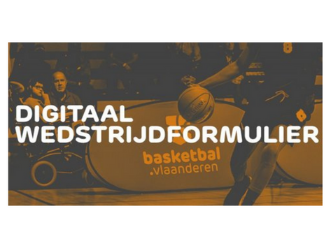 Infosessie digitaal wedstrijdformulier
