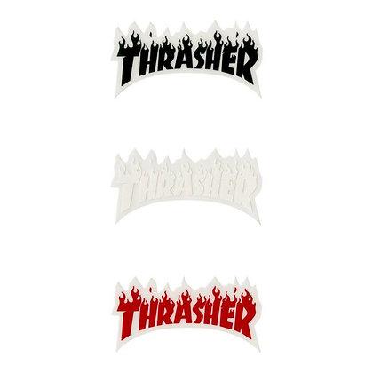 THRASHER  Flame Sticker 8cm x 5cm.