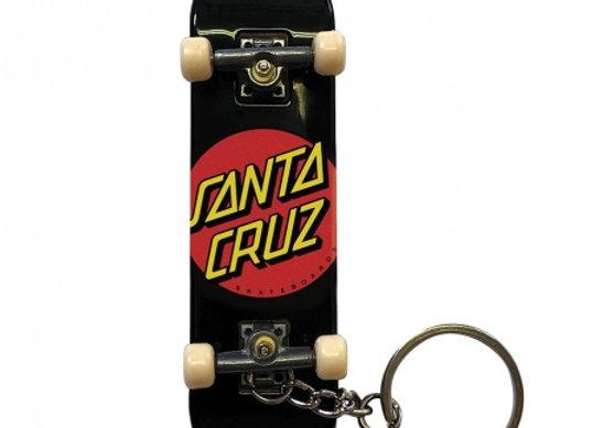 Santa Cruz Classic Dot Finger Board Keychain