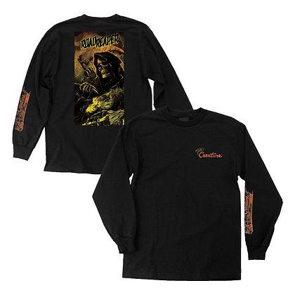 Creature Roadside Terror Shirt LS Blk