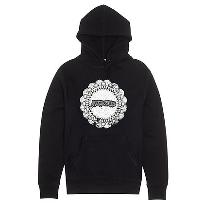 Fucking Awesome Doiley Hood Blk
