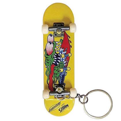 Santa Cruz Slasher Finger Board Keychain
