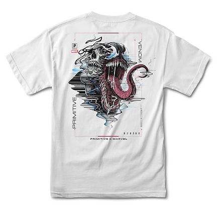 Primitive X Marvel Venom Tshirt Wht