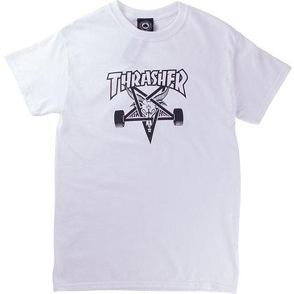 Thrasher Skategoat Tshirt Wht