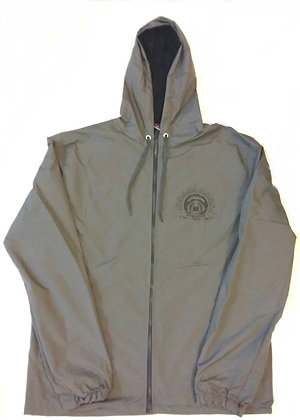 HYSTERIA Impermeable Gris.