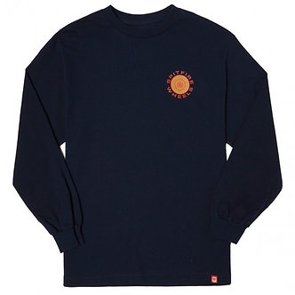 Spitfire Classic 87 Swirl Long/sleeve nvy/ylw