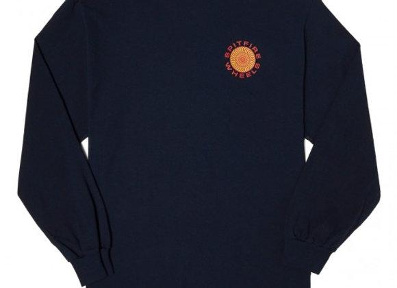 Spitfire Classic 87 Swirl Shirt LS Nvy