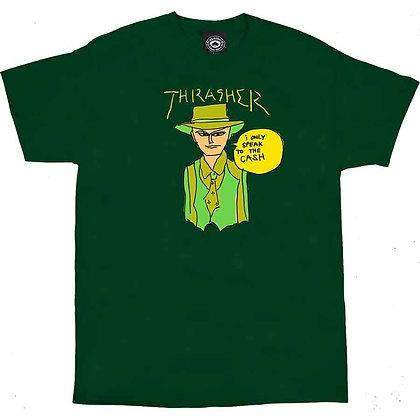 Thrasher Gonz Cash Tshirt Grn