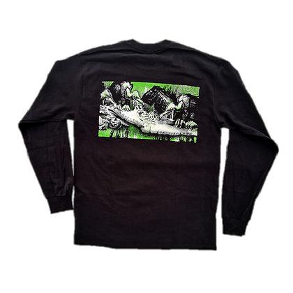 SVS Buitres Shirt LS Blk