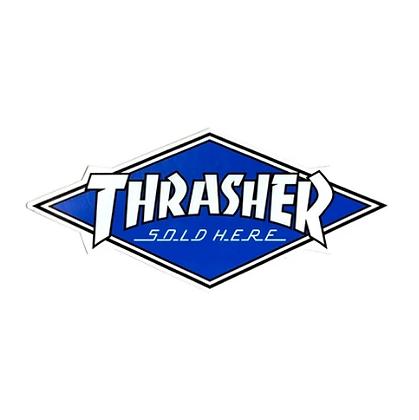 Thrasher Sold Here Dealer Sticker 30x13.5 cm