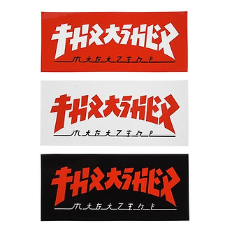 Thrasher Godzilla sticker 14X6cm
