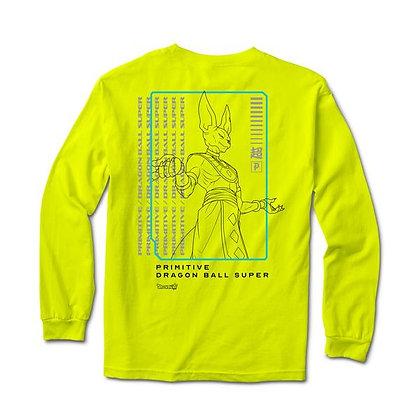 Primitive X DBS Destruction Shirt LS grn