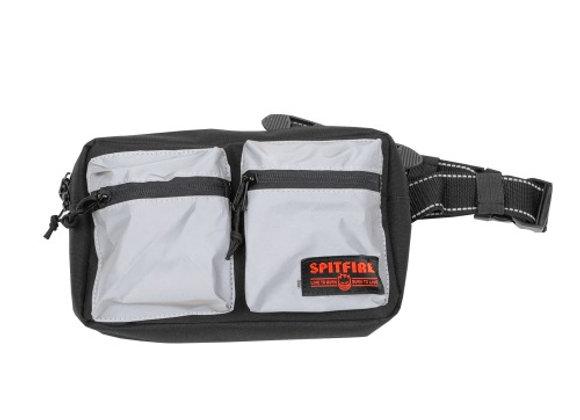 Spitfire Live To Burn Croos body bag blk/reflect