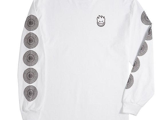Spitfire Stock Bighead Swirl Shirt LS Gry