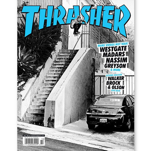 dcfde3116c0 THRASHER Magazine October 2018.