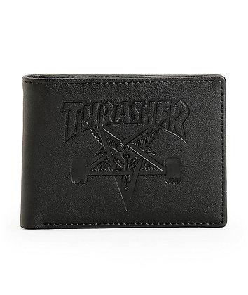 Thrasher Skategoat Leather Wallet
