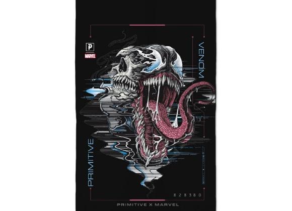 Primitive X Marvel Venom Banner Blk