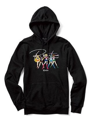 Primitive X Sailor Moon SM Hood Blk