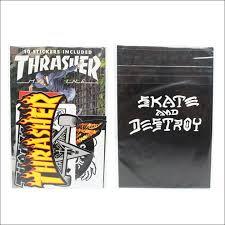 Thrasher Skate Pack 10 Piezas