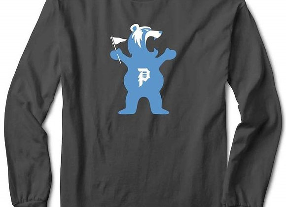 Primitive X Grizzly Mascot Longsleeve gry