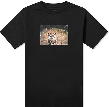 Fucking Awesome Owl Tshirt Blk