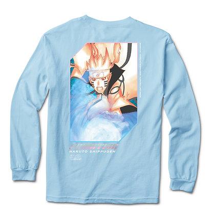 Primitive x Naruto3 Six Paths Shirt LS Blu