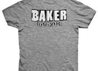 Baker Logo Dubs T-shirt gry