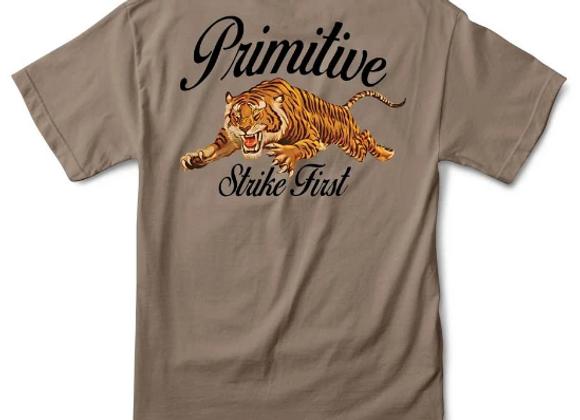 Primitive Untamed T-shirt sfr/grn