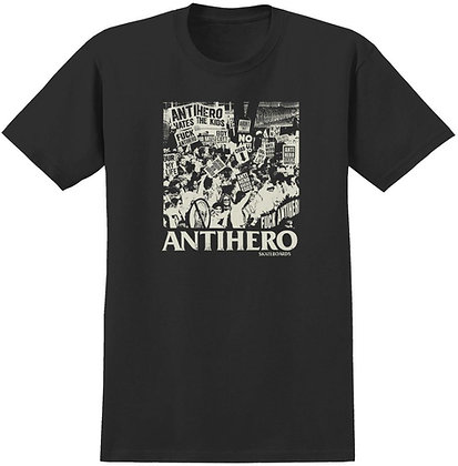 Antihero Protest Tshirt Blk