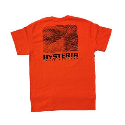 Hysteria Rostro Neon Tshirt Org