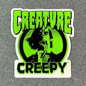 Creature Creepy Sticker 10x9cm