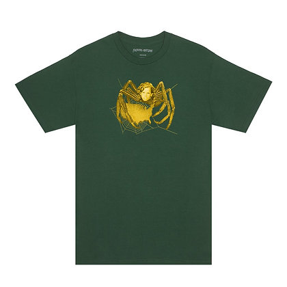 Fucking Awesome Spider T-shirt green