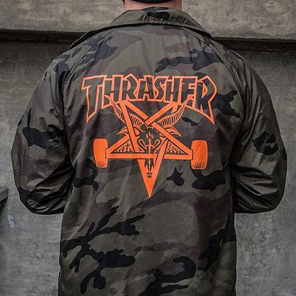 Thrasher Skategoat Jacket Camo