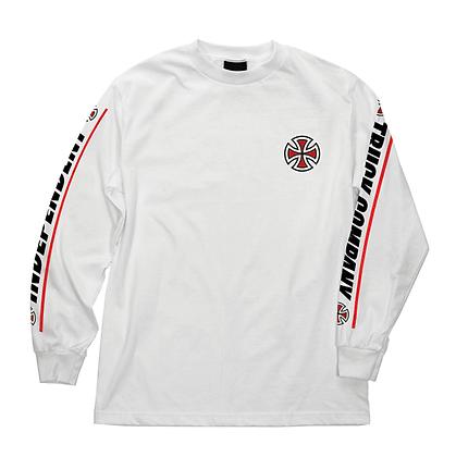 Independent Shear Slv Shirt LS Wht