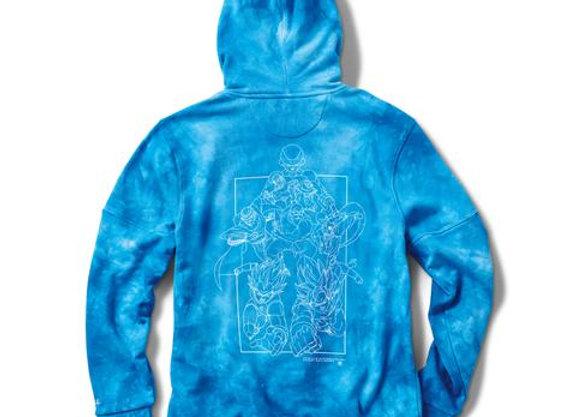Primitive X DBS SSG Washed Hood blu